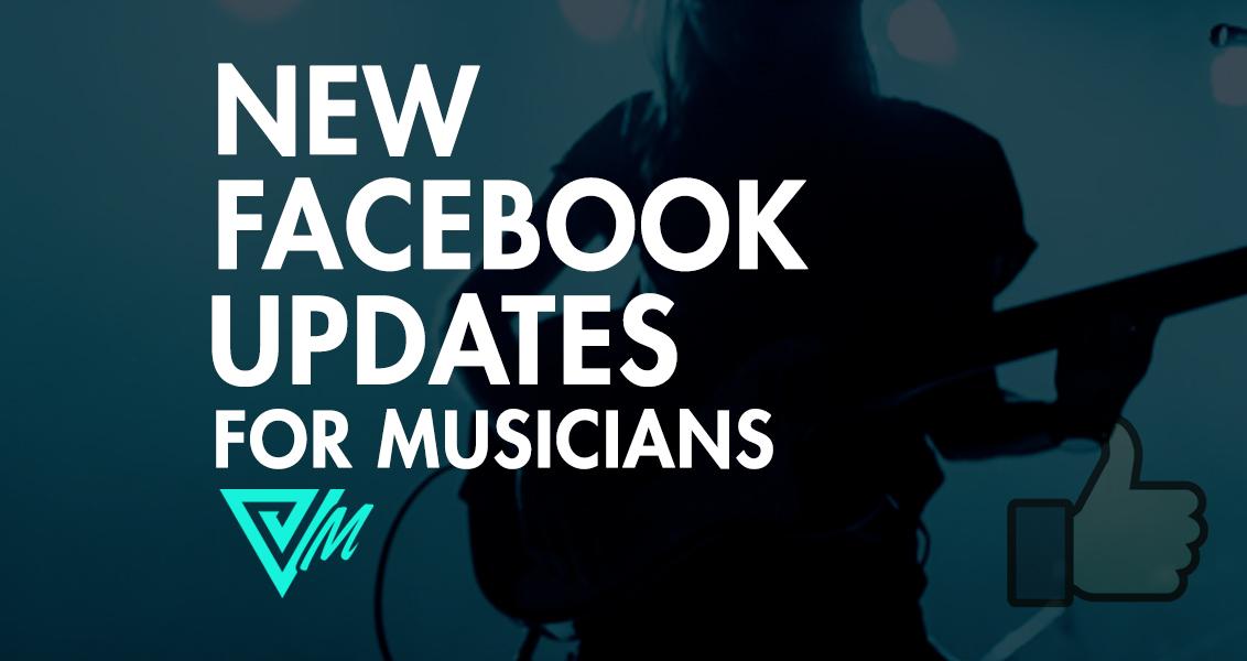 facebook updates for musicians