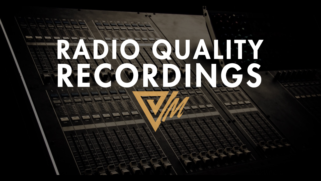 radio quality recordings
