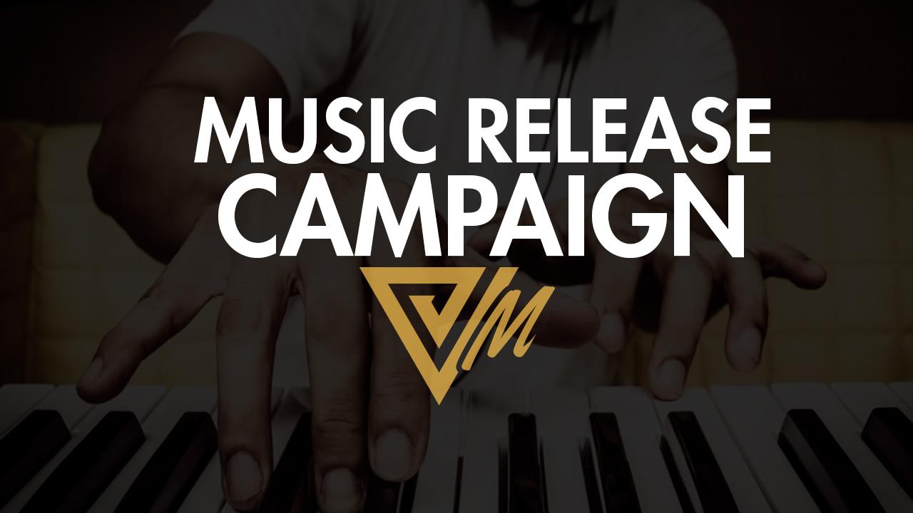 music release campaign