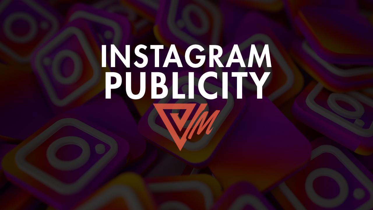 instagram publicity
