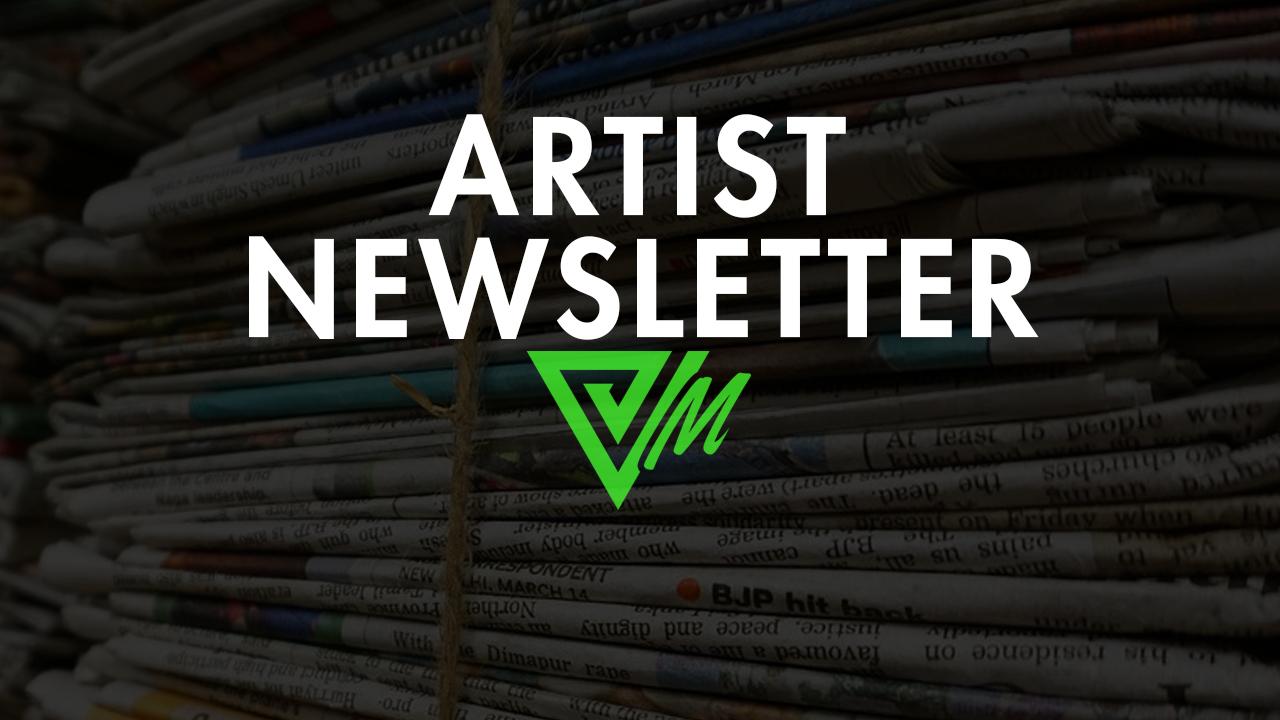 artist newsletter