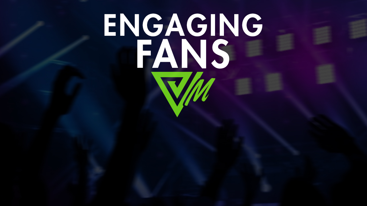 engaging fans